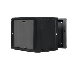 Wall Mount Cabinet 9U 600W x 550D - Hinged