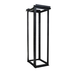 4-Post Open Frame Lab Rack - 38RU