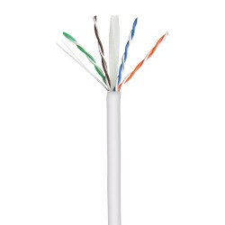 Cat 6 Unshielded Solid Cable - 305m - Grey