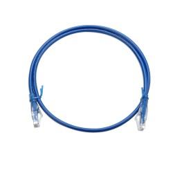 1m Cat6 Unshielded Patch Cable - Blue