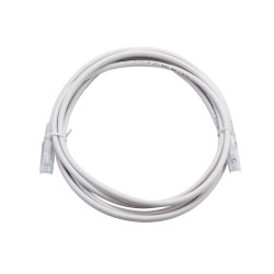 3m Cat6A Unshielded Patch Cable - White