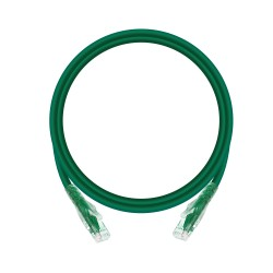0.5m Cat6 Unshielded Patch Cable - Green