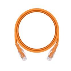 1m Cat6 Unshielded Patch Cable - Orange