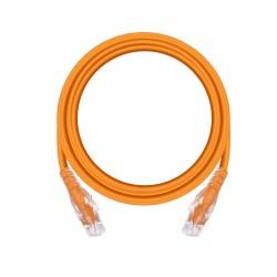 2m Cat6 Unshielded Patch Cable - Orange